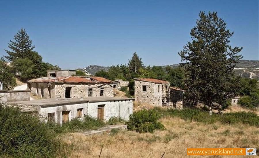 vretsia village paphos