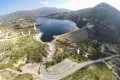 Germasogeia Dam aerial view