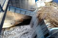 Germasogeia Dam overflowing
